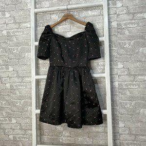 Gal Meets Glam Maude Daisy Satin Dress Size 2